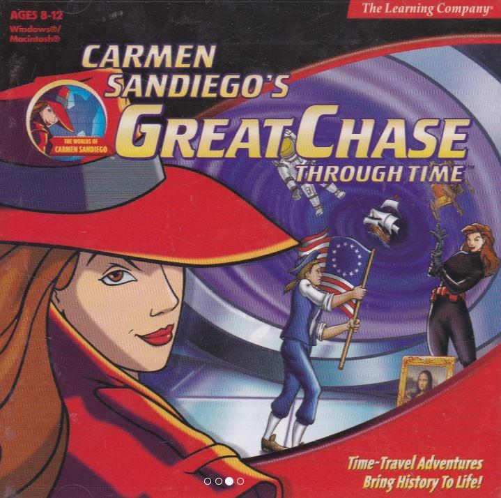 Chasing Carmen Sandiego Seeking History